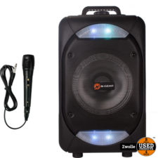 N-Gear N-GEAR THEFLASH 610   draadloos geluid en licht feest systeem   Karaoke box met microfoon