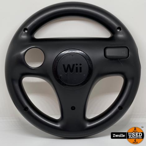 Wii game Mario kart stuur zwart