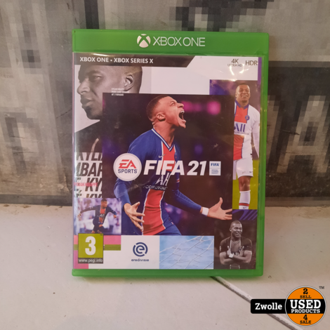XBOX one game Fifa 21