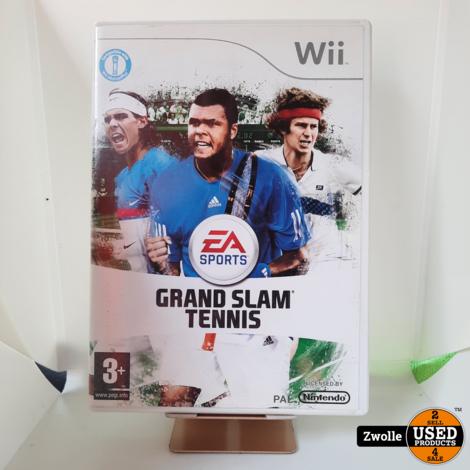 Wii game Grand Slam tennis
