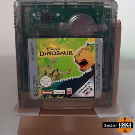 Gameboy color game Dinosaur