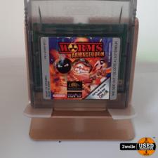 nintendo Gameboy color game Worms Armageddon