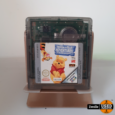 Gameboy color game winnie the Pooh