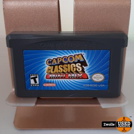 GameBoy Advance game Capcom Classics