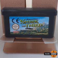 nintendo GameBoy Advance game Shrek the Third