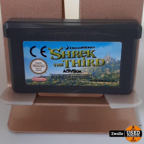 GameBoy Advance game Shrek the Third