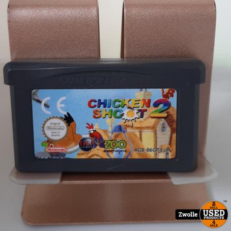 GameBoy Advance game Chickenshoot 2