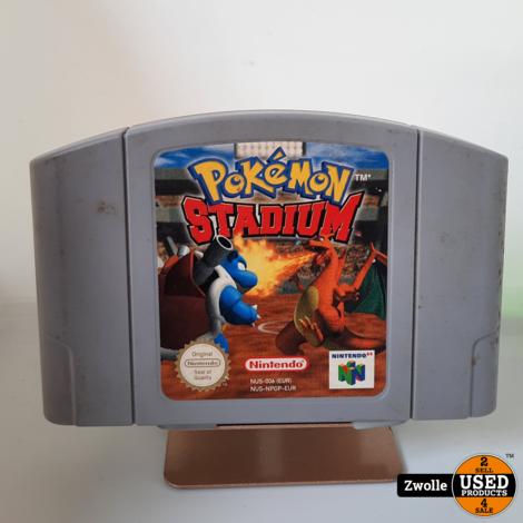 Nintendo 64 game Pokemon Stadium