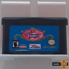 nintendo GameBoy Advance game Princess Pauper