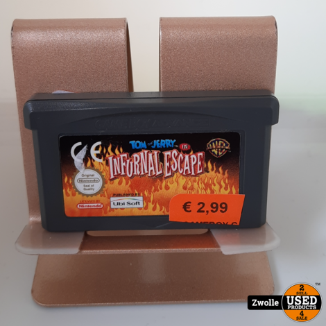 GameBoy Advance game Tom & Jerry Infurnal Escape
