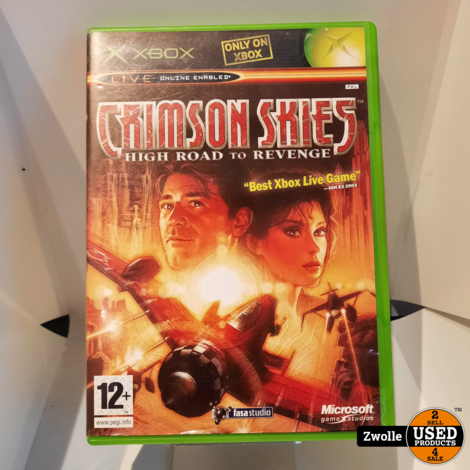 XBOX game Crimson Skies