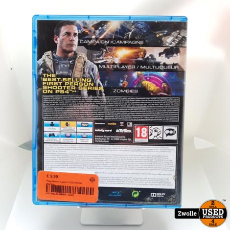 Playstation 4 game COD Infinite Warfare