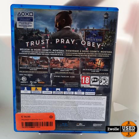 Playstation 4 game Far Cry 5