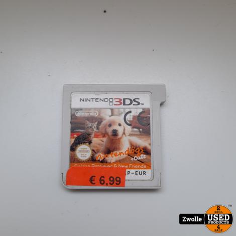 Nintendo DS Game   Nintendogs + Cats: Golden Retriever