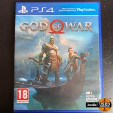 Playstation 4 game God Of War 2018 versie