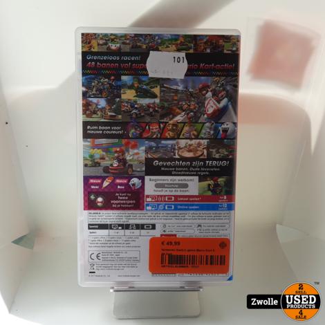 Nintendo Switch game Mario Kart 8 de luxe