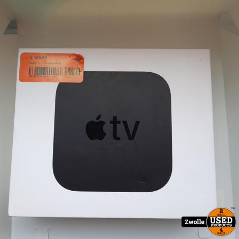 Apple TV (4th Gen, A1625) 32GB   nieuw open doos