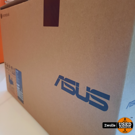Asus C423N Chromebook compleet in doos