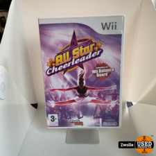 Wii game All Star Cheerleader