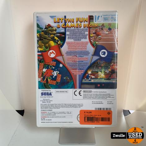Wii game Mario Sonic op de olympische spelen