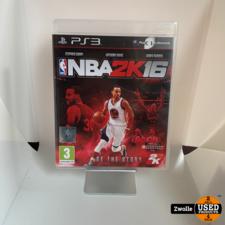 Playstation 3 Game   NBA 2K16