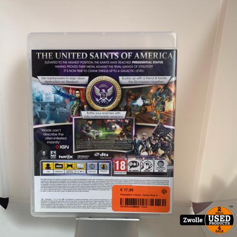 Playstation 3 Game | Saints Row IV