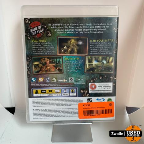 Playstation 3 Game | Bioshock 2