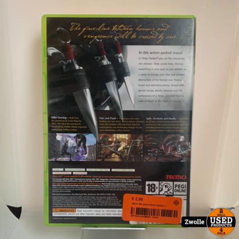 XBOX 360 game Ninka Gaiden II