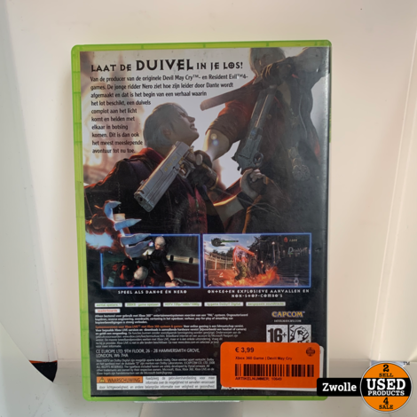Xbox 360 Game | Devil May Cry