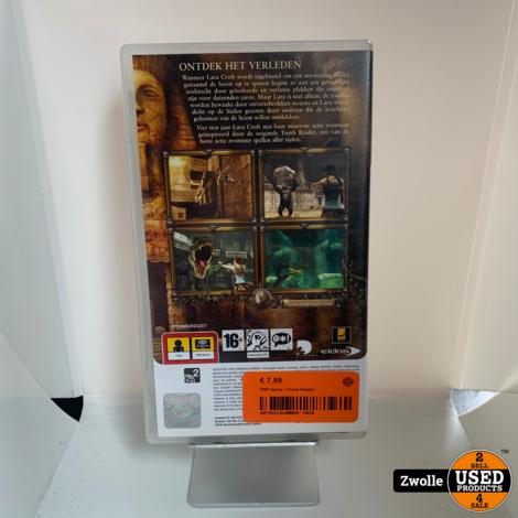 PSP Game   Tomb Raider