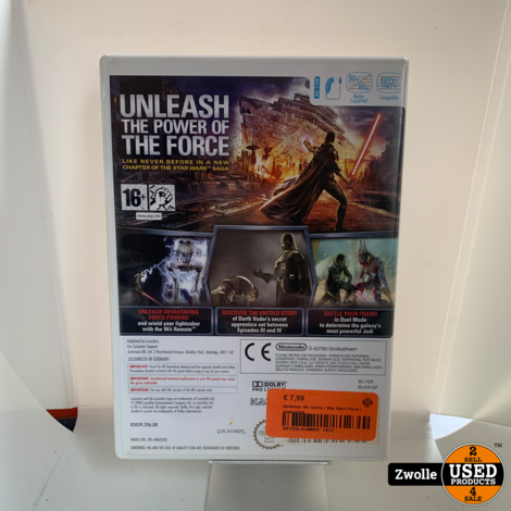 Nintendo Wii Game | Star Wars Force | Unleashed
