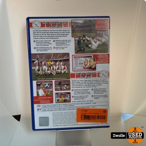 Playstation 2 Game   Ajax Club Football