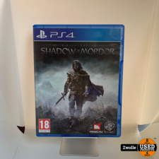 Playstation4 Game   Middle-Earth: Shadow Of Mordor