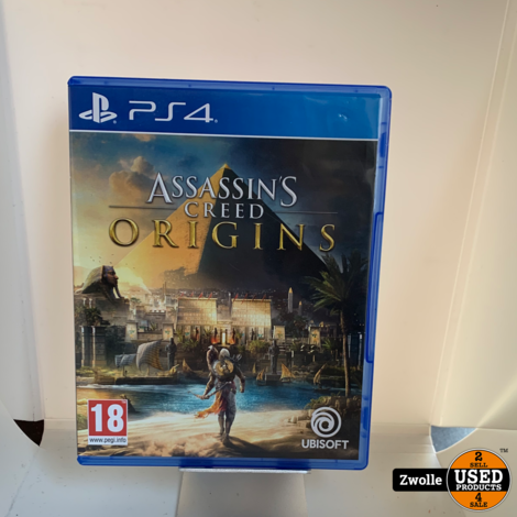 Playstation 4 Game |  Assassin's Creed Origins