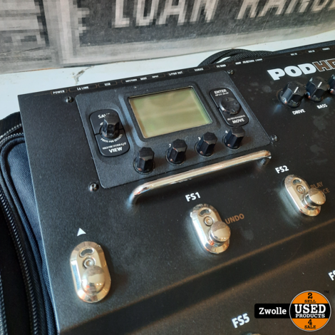 Line6 PodHD500   Line 6 POD HD500 gitaar vloer effect