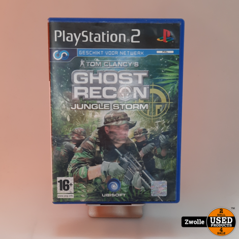 Playstation 2 game Ghost Recon
