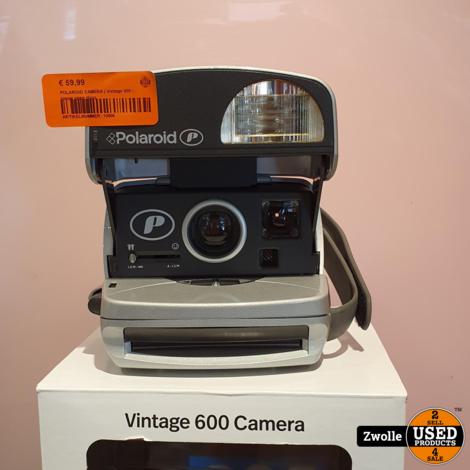 POLAROID CAMERA | Vintage 600 | nieuw open doos