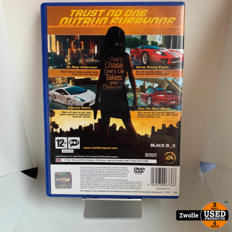 PS2 - Need for undercover