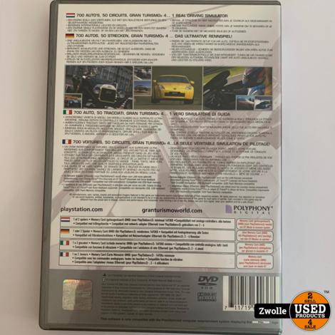 PS2 Game - Gran Turismo 4