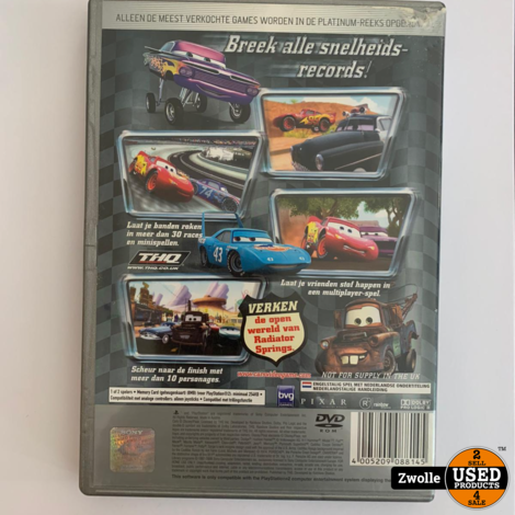 PS2 Game - Cars