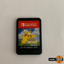 Switch game Pokemon Lets Go Pichachu