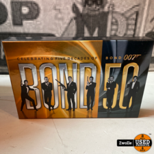 James Bond BluRay 50 Decades box | Als nieuw