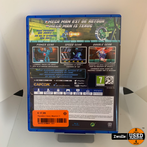 Playstation 4 Game | Megaman 11
