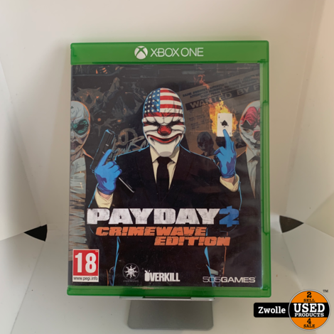 Xbox One Game - Payday Crimewave Edition