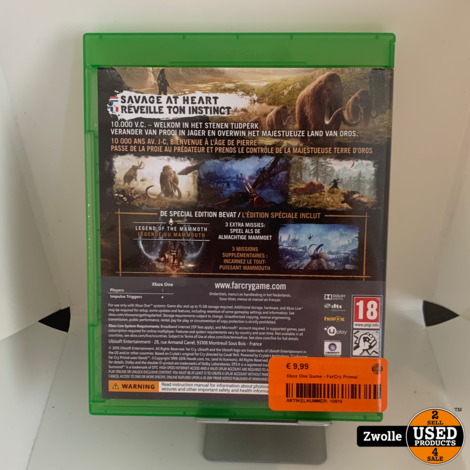 Xbox One Game - FarCry Primal