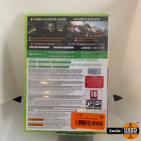 Xbox 360 game Battlefield Hardline