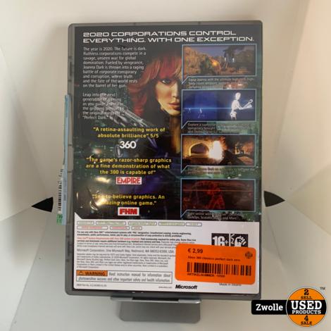 Xbox 360 classics perfect dark zero