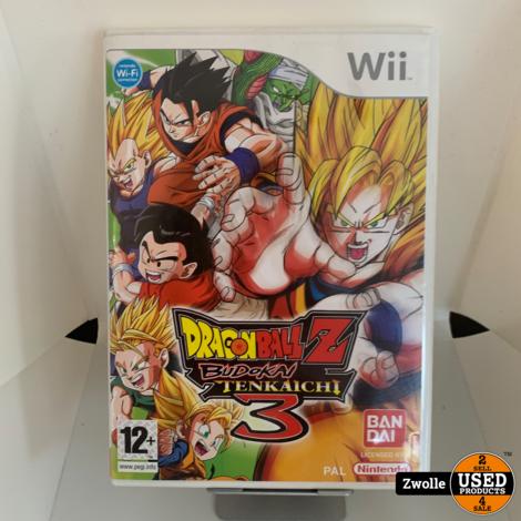 Wii game Dragonball Z Budokai