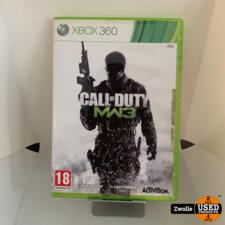 Xbox 360 game call of duty modern warfare 3