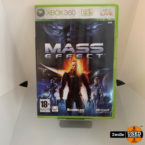 Xbox 360 game Mass effect